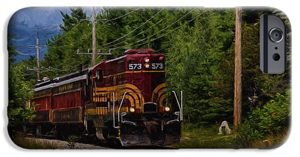 Old Barn iPhone Cases - All Aboard iPhone Case by Tricia Marchlik
