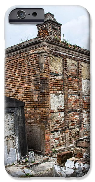 Cemetary iPhone Cases - All Bricked In iPhone Case by Robert Kinser