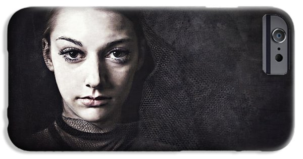 Young iPhone Cases - All of This Dust All of This Past iPhone Case by Spokenin RED