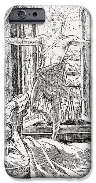First Introduction iPhone Cases - Allegorical Illustration Depicting The iPhone Case by Ken Welsh