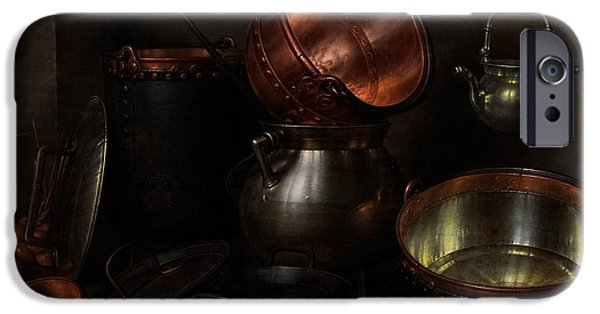 Holland Paintings iPhone Cases - Allegory of the Four Elements iPhone Case by Cornelis Jacobsz Delff