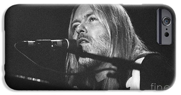 Gary Gingrich iPhone Cases - Allman Brothers-Gregg-0172 iPhone Case by Gary Gingrich Galleries