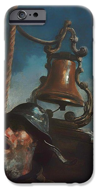 Raincoat iPhone Cases - Alls Well iPhone Case by Winslow Homer