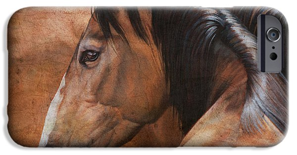 Equestrian iPhone Cases - Almost Dun iPhone Case by JQ Licensing