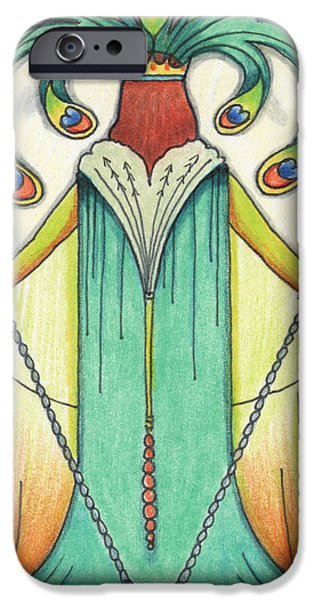 Sacrificial iPhone Cases - Alone At Moonrise iPhone Case by Amy S Turner