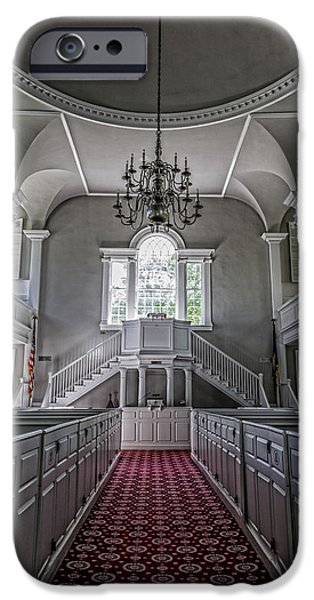 Red Carpet iPhone Cases - Altar Call iPhone Case by Stephen Stookey
