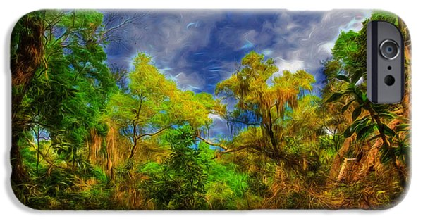 Pathway iPhone Cases - Altered State iPhone Case by John Bailey