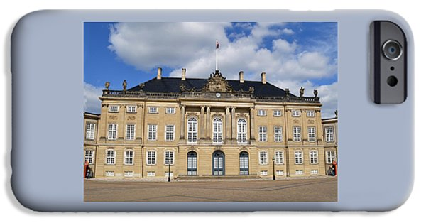 Royal Family Arts iPhone Cases - Amalienborg Palace. iPhone Case by Terence Davis