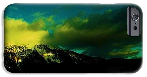 Switzerland Tapestries - Textiles iPhone Cases - Amarelo iPhone Case by Nila  Poduschco