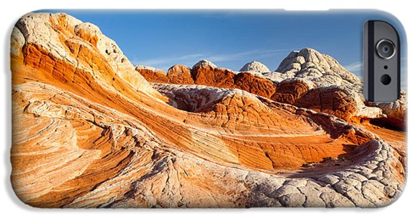 United States iPhone Cases - Amazing Rock iPhone Case by Dan Leffel