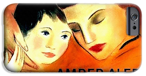 Missing Child iPhone Cases - Amber Alert iPhone Case by Lanjee Chee