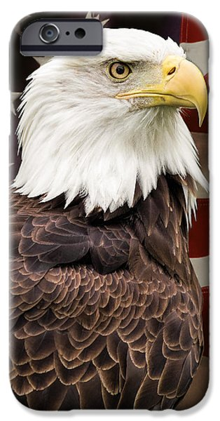 Patriots iPhone Cases - American Freedom iPhone Case by Dale Kincaid