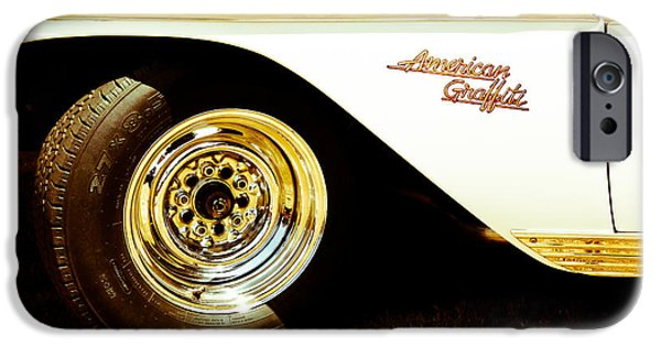 1955 Movies Photographs iPhone Cases - American Graffiti Classic iPhone Case by Athena Mckinzie