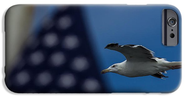 July iPhone Cases - American Pride iPhone Case by Brian Manfra