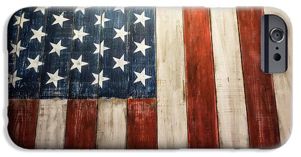 4th Of July iPhone Cases - American Pride iPhone Case by Shelby  Young