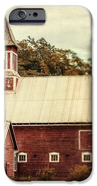 Americana Barn iPhone Case by Lisa Russo
