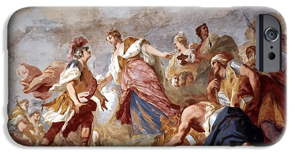 18th iPhone Cases - Amigoni: Dido And Aeneas iPhone Case by Granger