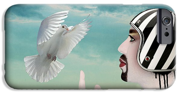 Animation iPhone Cases - Amir Fun  iPhone Case by Mark Ashkenazi