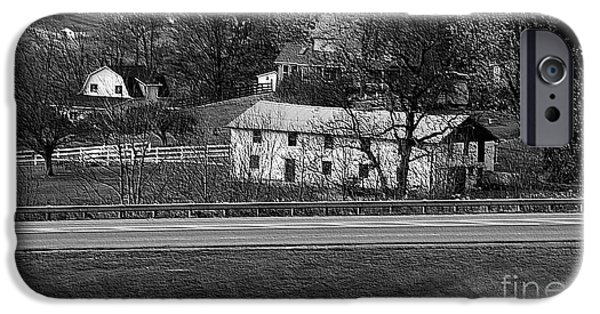 Amish Photographs iPhone Cases - Amish Farm iPhone Case by Kathleen Struckle