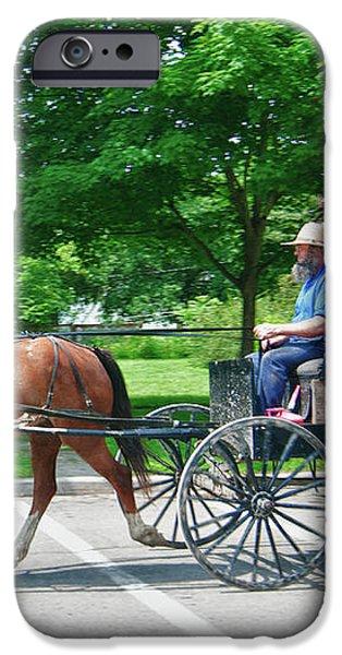 Amish Merchant 5671 iPhone Case by Guy Whiteley