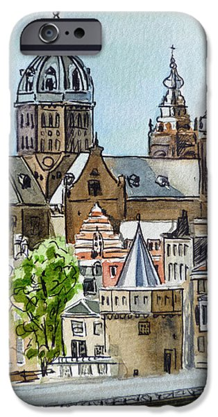 Amsterdam Holland iPhone Case by Irina Sztukowski