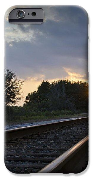 Amtrak Railroad System iPhone Case by Carolyn Marshall