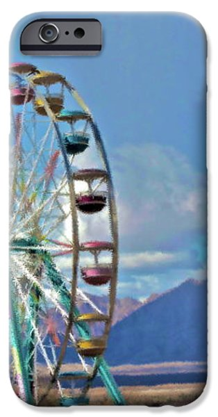 Amusement View iPhone Case by Gwyn Newcombe