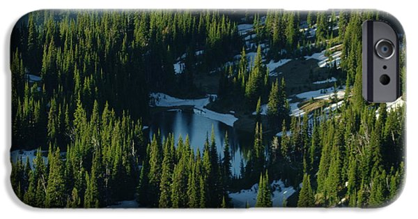 Recently Sold -  - Fed iPhone Cases - An Alpine Lake  iPhone Case by Jeff  Swan