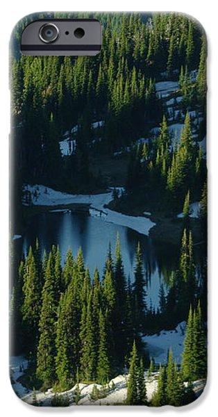 AN ALPINE LAKE  iPhone Case by Jeff  Swan