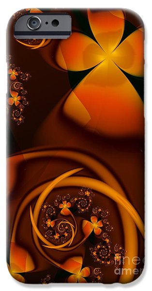 Michelle iPhone Cases - An Autumn Kind Of Summer iPhone Case by Michelle H