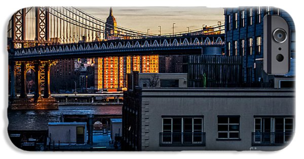 Empire State iPhone Cases - An Empire View iPhone Case by James Aiken