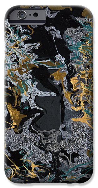 Evening Mixed Media iPhone Cases - An Evening In The Orient iPhone Case by Donna Blackhall