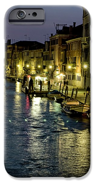 An Evening in Venice iPhone Case by Michelle Sheppard