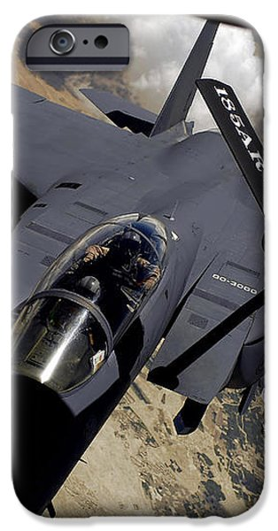 An F-15 Strike Eagle Prepares iPhone Case by Stocktrek Images