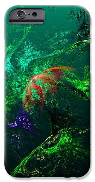 An Octopus's Garden iPhone Case by David Lane