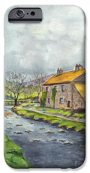 An Old Stone Cottage in Great Britain iPhone Case by Carol Wisniewski