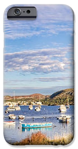 Anavyssos bay iPhone Case by Gabriela Insuratelu
