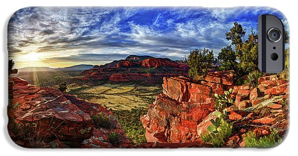Sedona iPhone Cases - Ancient Vision iPhone Case by Bill Caldwell -        ABeautifulSky Photography
