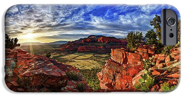 Red Rock iPhone Cases - Ancient Vision iPhone Case by Bill Caldwell -        ABeautifulSky Photography