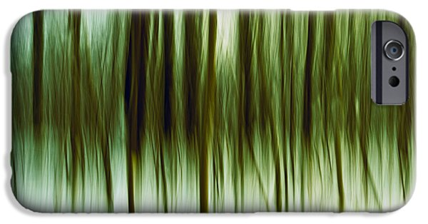 Abstractions Photographs iPhone Cases - And Now for Something Completely Different  iPhone Case by Gert Lavsen