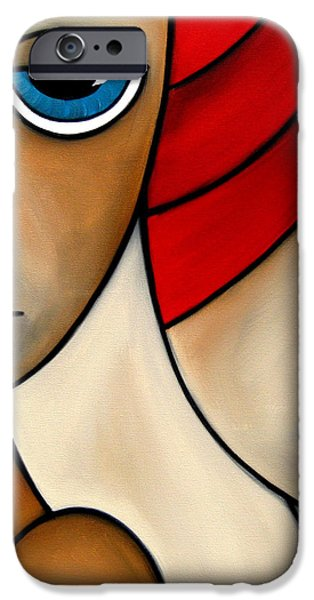 And She Was iPhone Case by Tom Fedro - Fidostudio