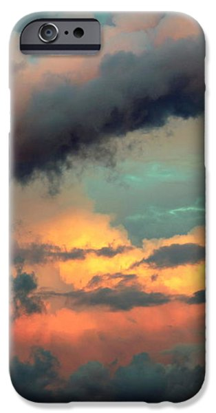 AND the THUNDER ROLLS iPhone Case by KAREN WILES