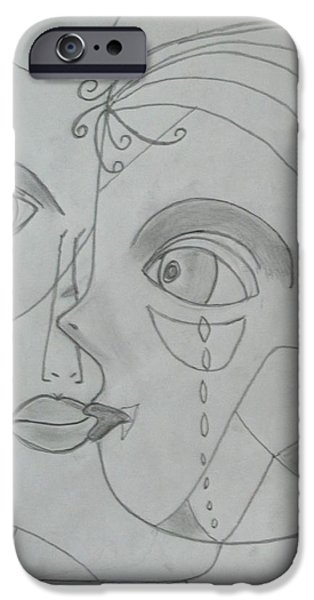 Torn iPhone Cases - And Then They Parted iPhone Case by Sharyn Winters