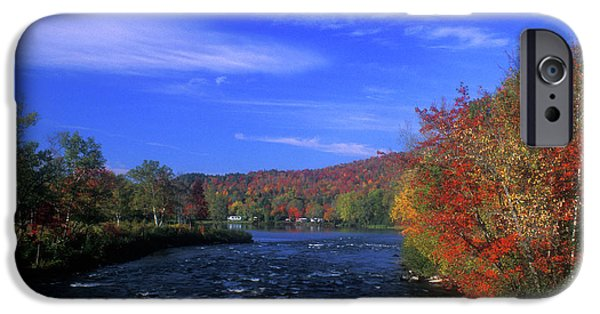 Androscoggin iPhone Cases - Androscoggin River Headwaters iPhone Case by John Burk