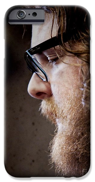 Andy Hull of Manchester Orchestra iPhone Case by Dustin K Ryan