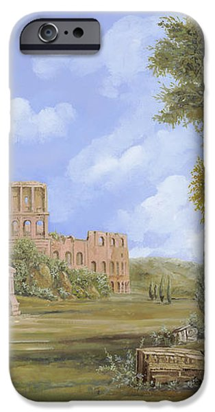 anfiteatro romano iPhone Case by Guido Borelli