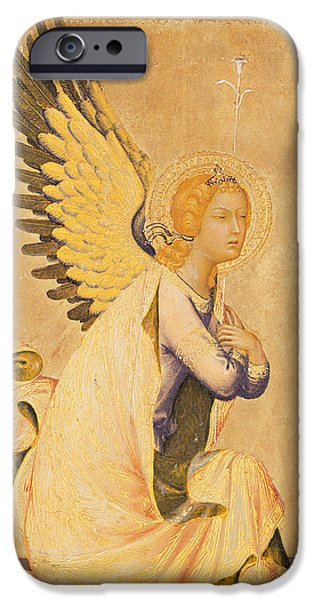 Ark iPhone Cases - Angel Gabriel  iPhone Case by Simone Martini