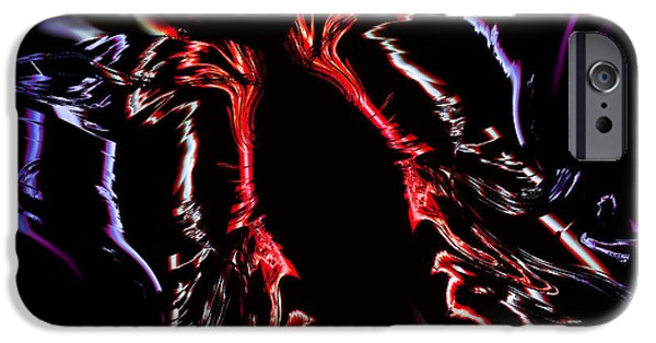 Night Angel iPhone Cases - Angel Wings in the Night iPhone Case by Stephen  Killeen