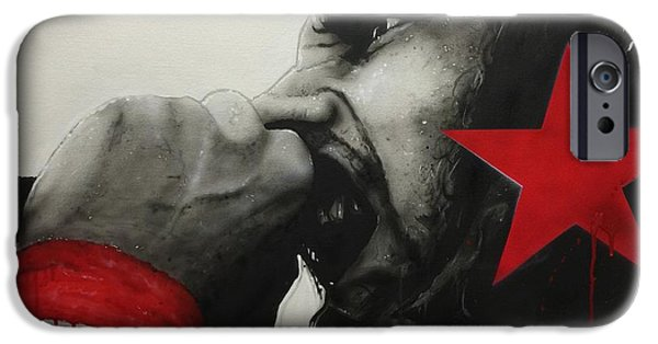 Rage iPhone Cases - Anger is a Gift iPhone Case by Christian Chapman Art