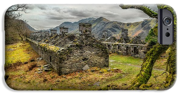 Dilapidated Digital Art iPhone Cases - Anglesey Barracks iPhone Case by Adrian Evans